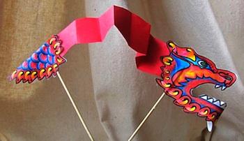 Craft Jr chinese dragon