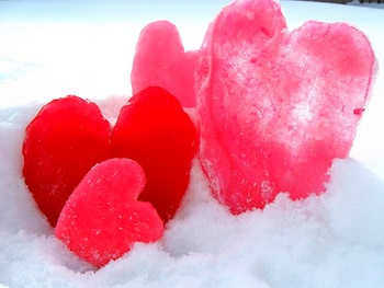 Craftberry Bush ice hearts