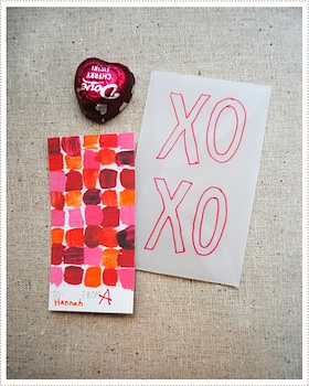 Mer Mag valentine art cards