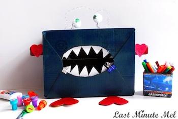Last Minute Mel valentine box