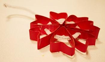 Mom Tried It tp roll mini heart wreath