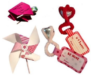 Mommy On A Shoestring valentine crafts