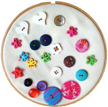 Childhood 101 button sewing