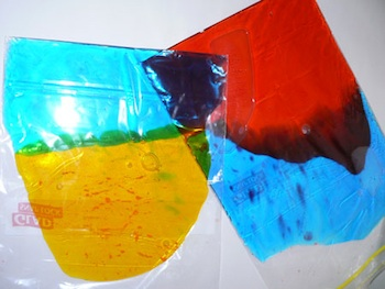 Irresistible Ideas finger paint bags