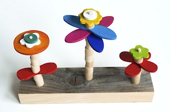 Made By Joel flower building toy