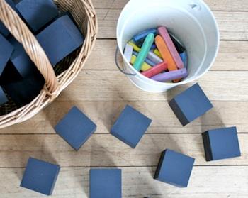 Playful Learning chalk blocks