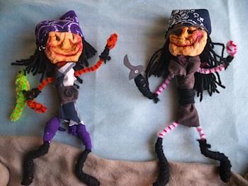 My Submarine To The Future pirate apple dolls
