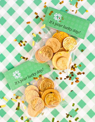 One Charming Party st. patrick's day printable