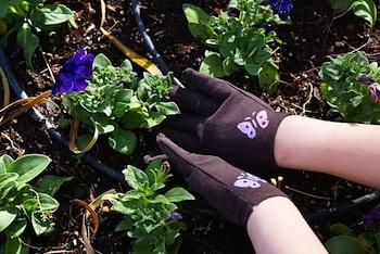 My Craft Evolution upcycled kids' garden gloves