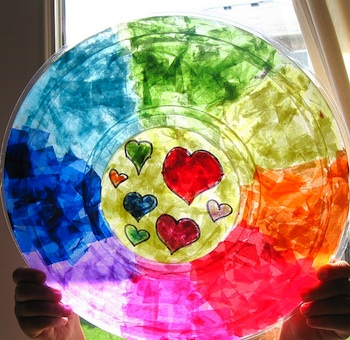 Craftberry Bush rainbow suncatcher
