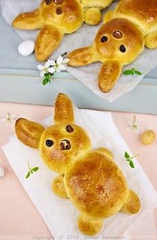 Sweet Sensations bunny brioche