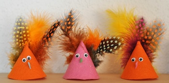 Lilla A cone chicks