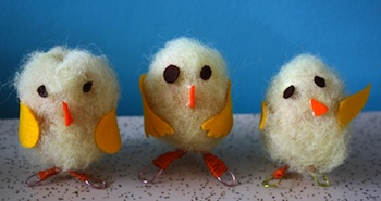 Twig And Toadstool fluffy chicks