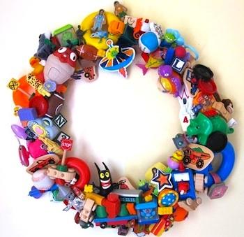Infarrantly Creative toy wreath