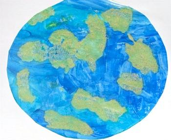 Putti Prancha salt paint earth