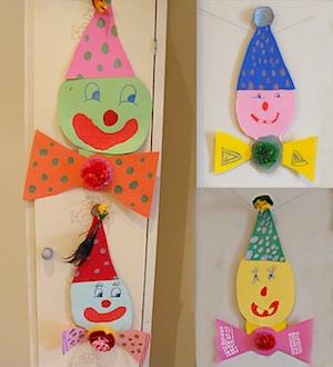 Creative Jewish Mom clowning around project