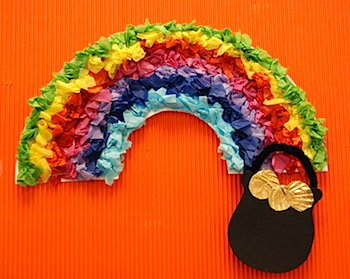 st patricks day rainbow roundup things to make and do
