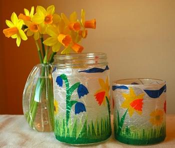 We Bloom Here flower lantern