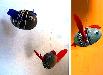 El Hada De Papel rock fish mobile