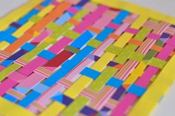 Lilla A paper weaving