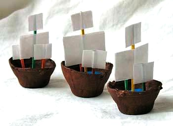 The Celebration Shoppe pirate ship craft