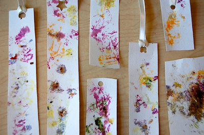 Tinker Lab pounded flowers bookmark 8
