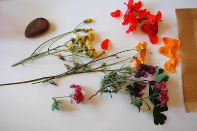 Tinker Lab hammered flowers bookmark 1