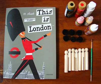 Aesthetic Outburst this is london peg dolls materials 1