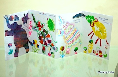 Mommy Labs elephant book craft 31