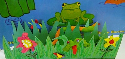 The Art Annex jump frog jump book craft