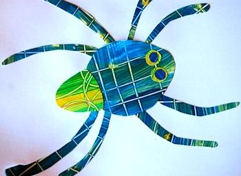 Tinker lab eric carle paste paper collage