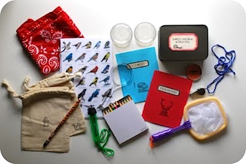 Chez Beeper Bebe nature explorer bag contents