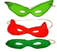 Se7en superhero masks