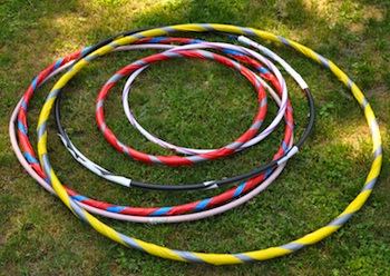 Hillbilly Jillies hula hoop diy