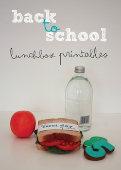 Little.Lovely. back to school printables