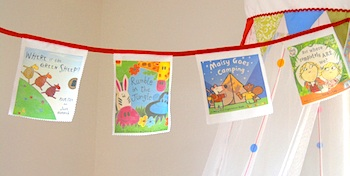 Childhood 101 book cover bunting