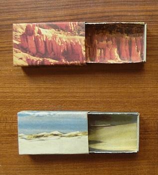 Nuno Painted Desert matchbox diorama