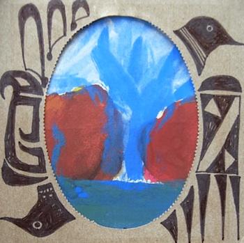Nuno Painted Desert box mats