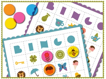 Draw! Pilgrim bingo game printable