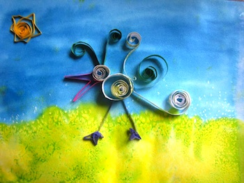 Ordinary Life Magic quilling craft