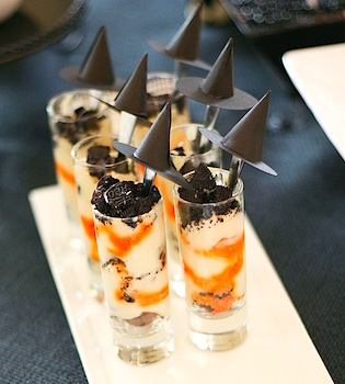 Frog Prince Paperie halloween parfaits