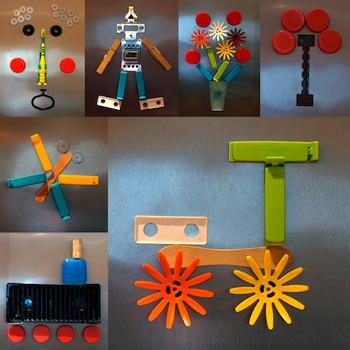 Artful Adventures junk art collage