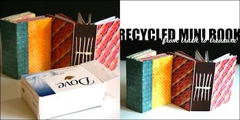 Creativity Prompt soap wrapper mini book
