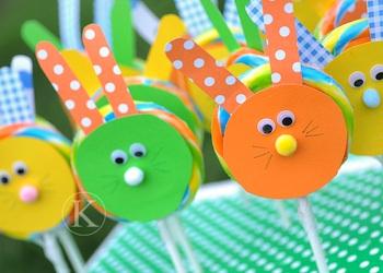 Katherine Marie Photography bunny lollipops