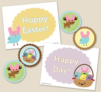 Creative Mamma easter printable