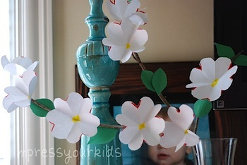 Impress Your Kids dogwood flowers