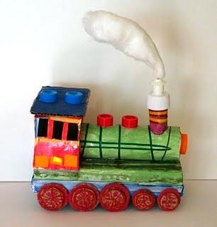 PoMyskowym recycled train