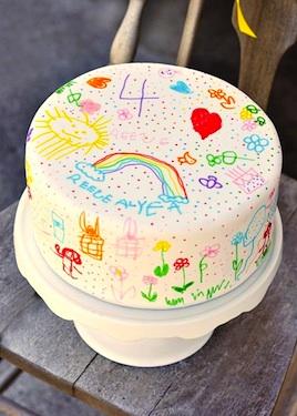 Sweetapolita doodle cake