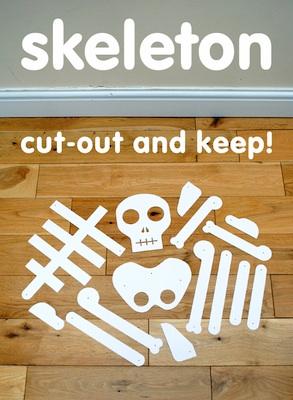 Mini-eco paper skeleton