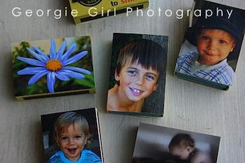Love And Lollipops matchbox frame magnets